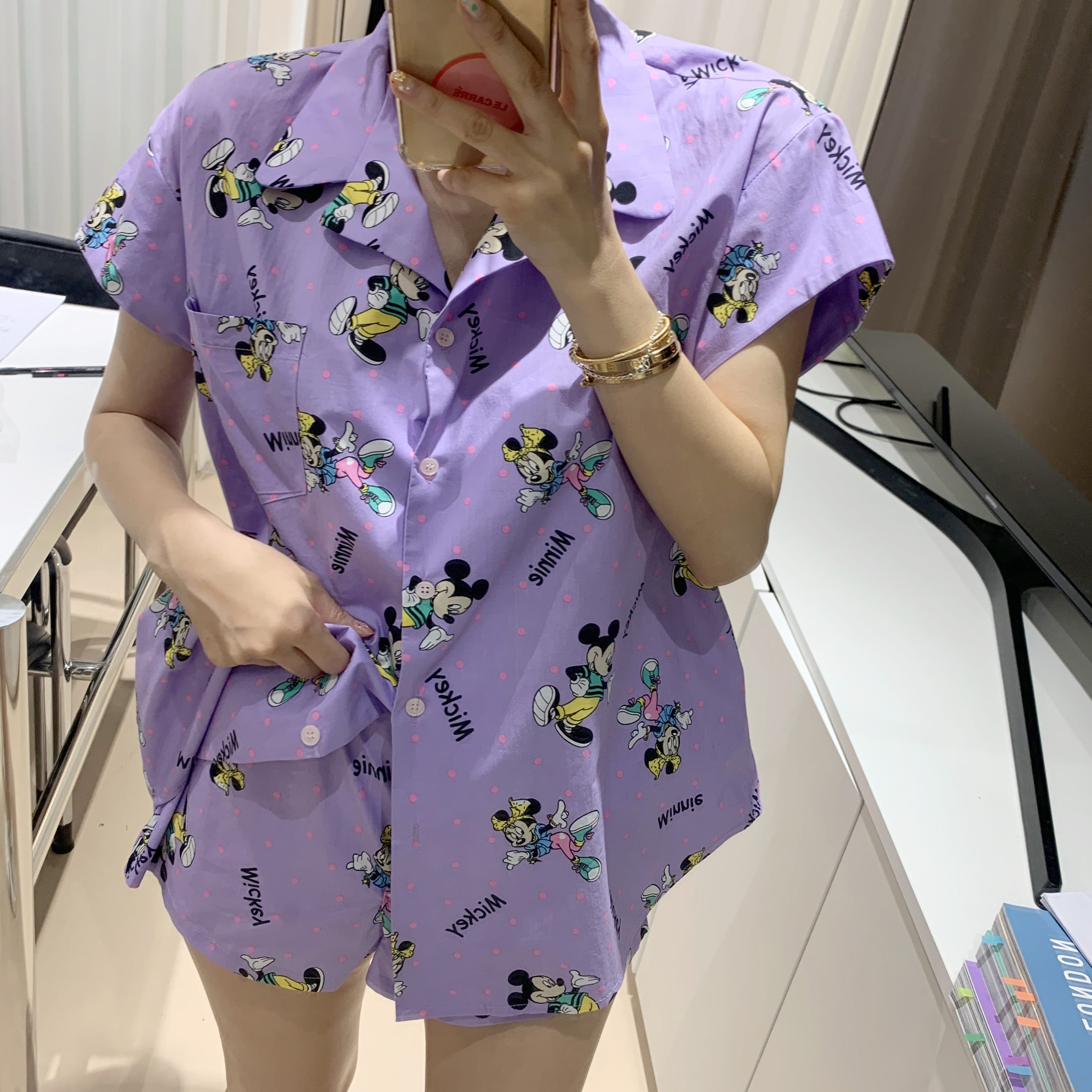MINNIE&MICKEY PAJAMA